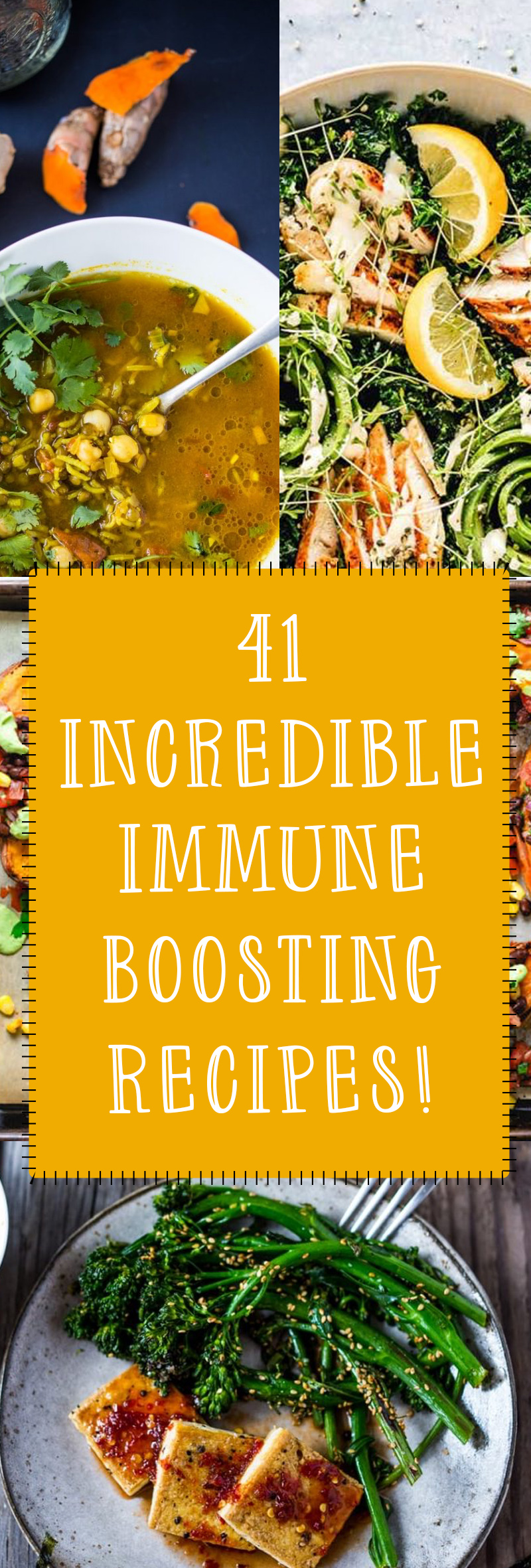 41 Immune Boosting Aspect Packed Recipes That You Will Love!